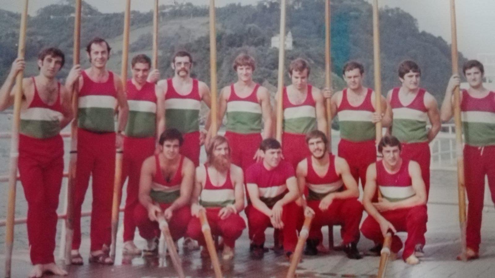 Arraunlariak, 1970eko hamarkadan